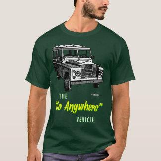 Land-Vagabunden gehen überall T-Shirt