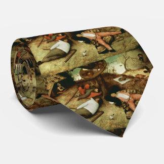 Land von Cockaigne durch Pieter Bruegel das Krawatten