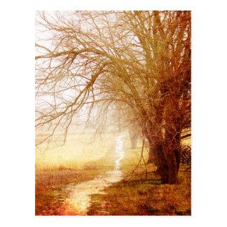 Land-Weg-Postkarte