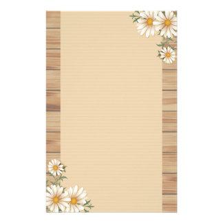 Land-Wildblume Briefpapier