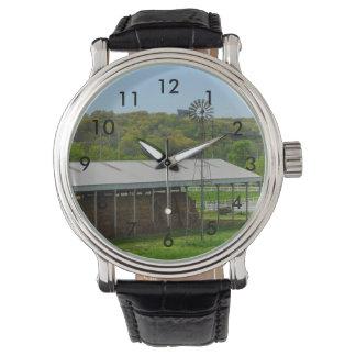 Land-Windmühle Armbanduhr