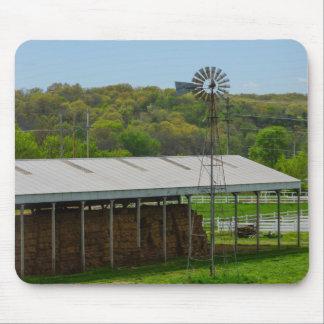 Land-Windmühle Mauspads