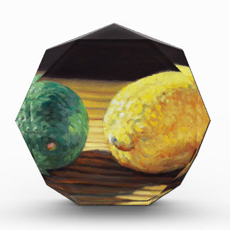 Land-Zitrone und Limones Auszeichnung