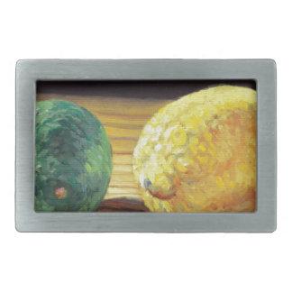 Land-Zitrone und Limones Rechteckige Gürtelschnalle