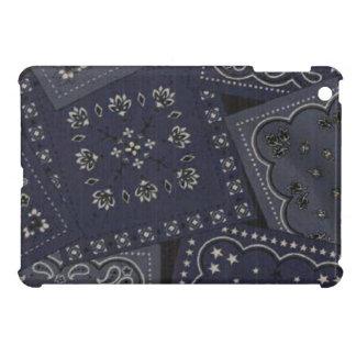 Landblaues Bandana iPad mini glatter Endfall iPad Mini Etui