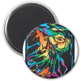 landen Sie [umgewandelt] Runder Magnet 5,1 Cm