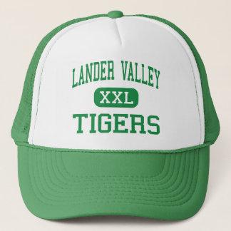 Lander-Tal - Tiger - hoch - Lander Wyoming Truckerkappe