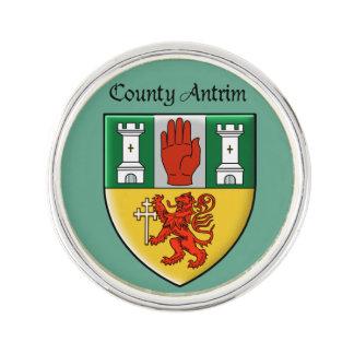 Landkreis-Antrim-Revers-Button Anstecknadel