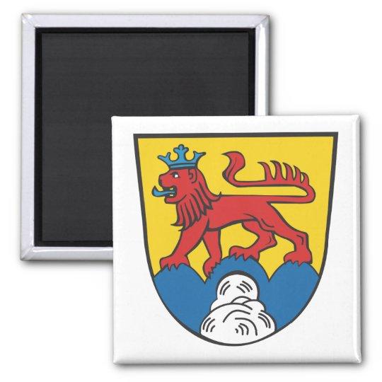 Landkreis Calw Wappen Quadratischer Magnet