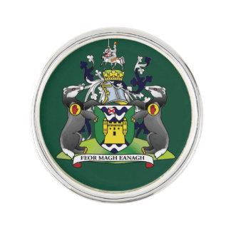 Landkreis Fermanagh Revers-Button Anstecknadel