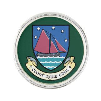 Landkreis-Galway-Revers-Button Anstecknadel