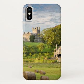 Ländliche Crom Schloss-Landschaft iPhone X Hülle