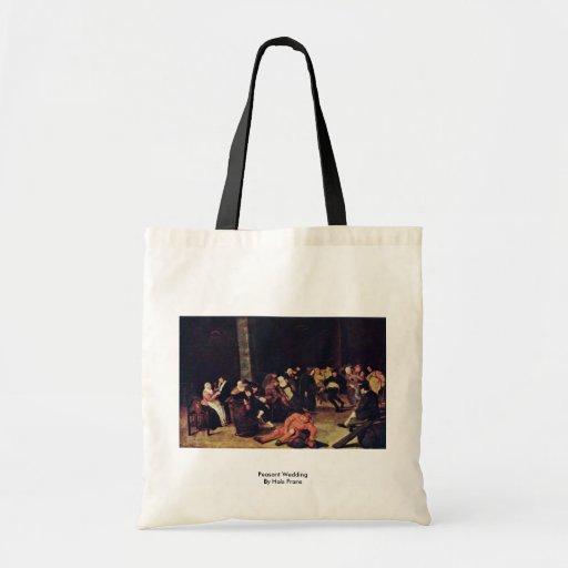 Ländliche Hochzeit durch Hals Frans Einkaufstaschen