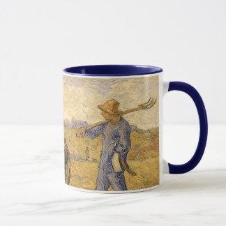 Ländliche Paare, die gehen, durch Vincent van Gogh Tasse