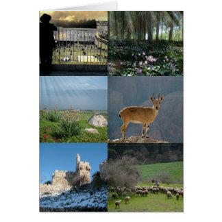 Lands-Szenen und Bilder von Israel Karte