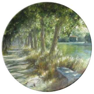 Landscape with zu path close to the Plakat river Teller