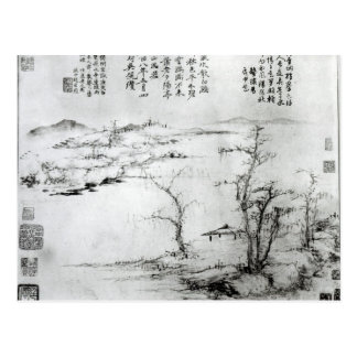 Landschaft 2 postkarte