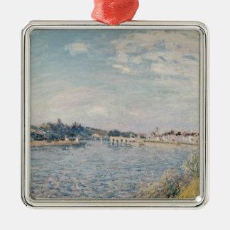 Landschaft Alfred Sisleys   Silbernes Ornament