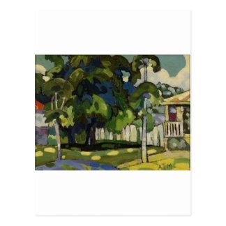 Landschaft bis zum Arman Manookian C. zwanziger Postkarte