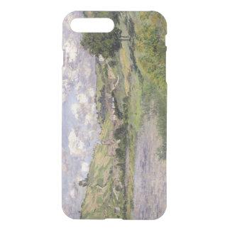 Landschaft Claude Monets |, Vetheuil, 1879 iPhone 8 Plus/7 Plus Hülle