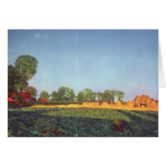 Landschaft durch Ford Madox Brown Karte