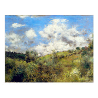 Landschaft durch Pierre Renoir Postkarte
