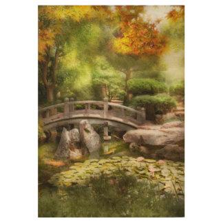 Landschaft - einfach Paradies Holzposter