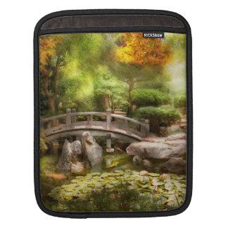 Landschaft - einfach Paradies iPad Sleeve