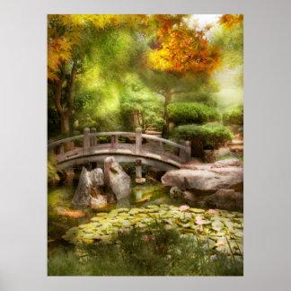 Landschaft - einfach Paradies Poster