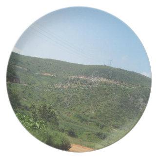 Landschaft Flacher Teller