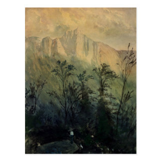 Landschaft in den Vosges, c.1883 Postkarte