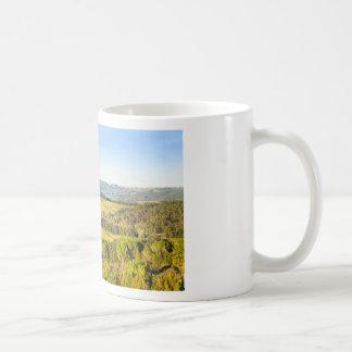 Landschaft in Toskana, Italien Kaffeetasse