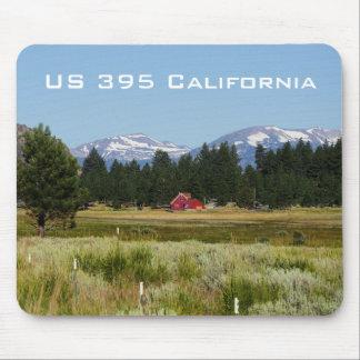 Landschaft Kaliforniens HWY 395 Mauspad
