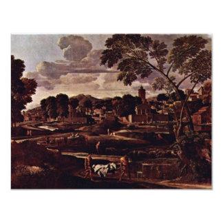 Landschaft mit der Beerdigung des Phocus durch Individuelle Einladung