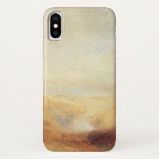 Landschaft mit entfernter Fluss-Bucht durch Joseph iPhone X Hülle