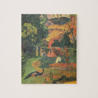 Landschaft mit Pfaus durch Paul Gauguin Puzzle