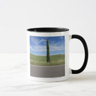 Landschaft mit Zypressen Tasse
