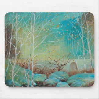 Landschaft, Naturmuster, Ölgemälde Landscap Mousepads