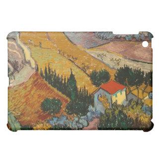 Landschaft Vincent van Goghs | mit Haus u. iPad Mini Hülle