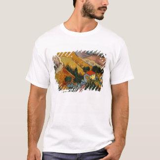 Landschaft Vincent van Goghs | mit Haus u. T-Shirt