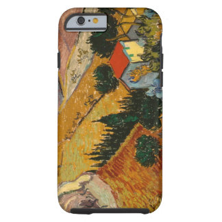 Landschaft Vincent van Goghs | mit Haus u. Tough iPhone 6 Hülle