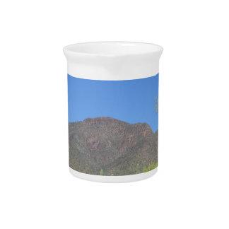 Landschaftliche Apache-Spur Getränke Pitcher