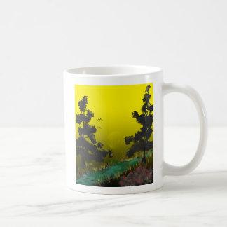 Landschaftliche Tasse