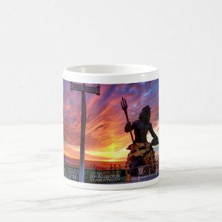Landschaftliche Virginia- Beachsonnenaufgang-Tasse Kaffeetasse