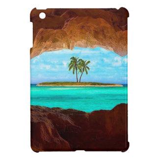 Landschaftliche Wasser- und Palmen iPad Mini Hülle