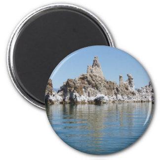 Landschaftlicher Monosee Runder Magnet 5,7 Cm