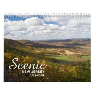 Landschaftlicher New-Jersey Kalender