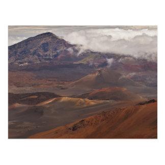 Landschaftlicher Überblick über Berg Postkarte