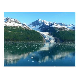 Landschaftliches Alaska Kreuzen des Uni-Fjord-I Postkarte