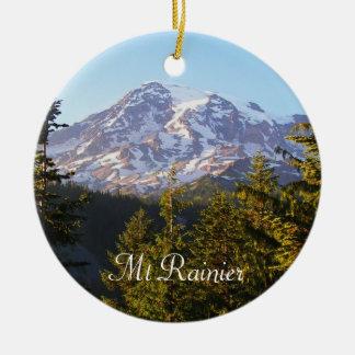 Landschaftliches der Mount- RainierFoto Keramik Ornament